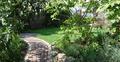 Sicht in den Garten