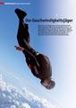 aeroRevue: Weltrekord Marc Hauser, Redner | Referent | Keynote Speaker Mut + Motivation