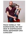 Entrevista a PACO VARELA en www.zeleb.es. 12 Abril 2019.