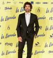 Tamar Novas de VRL   PACO VARELA en la premiere de 'La Llamada - la película'. Madrid, 26 Septiembre 2017.