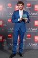 Álvaro Cervantes de VRL   PACO VARELA en los Premios MIM. 28 Noviembre 2016.