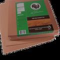 Houtvezelplaat voor toepassing als ondervloerplaat onder laminaat en parket van 10 mm dik | NIET geschikt voor vloerverwarming – WEL 10dB TUV Certificaat geluidsreductie | Zowel thermisch als akoestisch isolerend