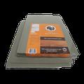 XPS ondervloer van parketman 3 mm dik van polyporpyleen met een warmteweerstand van 0,086 m²K/W en dus niet geschikt voor vloerverwarming | Contactreductie niet 10 dB | Vochtwerend indien afgeplakt | zeer geschikt onder laminaat