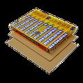 Redupax+ 8mm +10dB norm geluidsreductie kliklaminaat / fineerparket / lino met een warmteweerstand  van ± 0,103 m2K/W | NIET geschikt voor vloerverwarming | Wel zeer geluidsisolerend en uiterst stabiele ondervloer