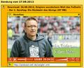 """Im WDR : """"Zeiglers wunderbare Welt des Fußballs"""" vom 26.08.2012 im Telefonat mit Trainer Meier"""
