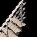 Détails Biax rampe bois/alu