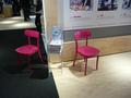 CeBIT 2012   Wo standen wohl diese Stühle? Richtig.
