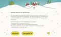 IKEA Adventskalender-App 2018 - Begrüßungs-Screen 4: Grafik- und UI-Design unter Verwendung bestehender Illustrationen; © IKEA / Oetinger Corporate