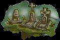 "Travel-Map-Grafik für das Point-and-Click-Adventure ""Heaven's Hope""; © Mosaic Mask Studios"