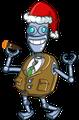 """FreudBot mit seiner Weihnachtsmütze für die Weihnachts-Edition von """"FreudBot"""" © Slash Games"""