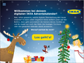 IKEA Adventskalender-App 2017 - Begrüßungs-Screen; © IKEA / Oetinger Corporate