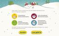 IKEA Adventskalender-App 2018 - Begrüßungs-Screen 2: Grafik- und UI-Design unter Verwendung bestehender Illustrationen; © IKEA / Oetinger Corporate
