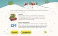 IKEA Adventskalender-App 2018 - Begrüßungs-Screen 3: Grafik- und UI-Design unter Verwendung bestehender Illustrationen; © IKEA / Oetinger Corporate