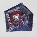 Armonía 30x30cm  Xilografía 2013