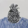 Sentimientos apilados 30x30cm Colagrafía, Xilografía, Xilografía Contrafibra 2013