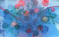 Nebulosa 99x63cm Grabado, Xilografia, Colagrafía 2012