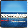 Adriatic Sea - Canoes in Pedaso