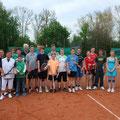 Teilnehmer Eröffnungsturnier 2013 - SKG Stockstadt Tennis