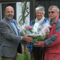Ehrungen Eröffnungsturnier 2013 SKG Stockstadt Tennis - Ludwig Christlabuer, Ursula Kraft und Heinz Sobotta (v.l.n.r.)