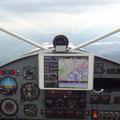 iPad Mini hielt auch im KITFOX Cockpit Einzug