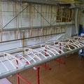 Das Baulokal zuhause ist nun mit Flügeln ausgefüllt