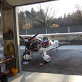 Nebst dem KITFOX steht noch ein Cherry BX2 in der Garage zu 90% fertig gebaut