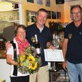 Auszeichnung für strahlende KITFOX Erbauer (Foto GC)