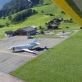 Auch Bernie Ecclestone benutzt den Flugplatz Saanen ;-)