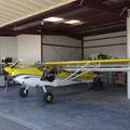 Komfortable Hangarplätze