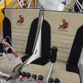 Farbe der Sitzpolster ergibt Farbe für den Innenraum