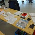 Paperwork vorbereitet für die EAS Abnahme