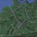 GPS Tracks des Germany Fly Out