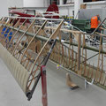 Drehgestell für Flügel konstruiert