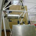 Headertank und Fuel Lo Level Tank mit Benzinleitungen