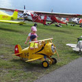 EAS Fly-In Bex Young Eagle am trainieren