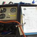 Pitot-, Static Systeme werden geprüft