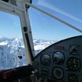 Problemlos klettert der KITFOX auf 14'000ft