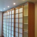 Feng Shoi Schiebetüren Schrankwand