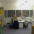 SR6 Poststellen-Arbeitsplatz, Sitzarbeitsplatz 720 mm hoch und Steharbeitsplatz - 900 mm hoch