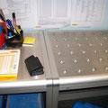 09 Kugelrollentisch für den leichteren Transport von schweren Paketen