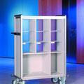 FVTF3 Fahrverteiler F mit Paketfach, auch mit 4 Sortierreihen lieferbar -> Gesamtbreite bzw. -länge 1332 mm