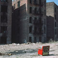 "Thomas Hoepker | ""Burned out apartment buildings  in South Bronx""  