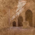 """Story # 6 from series """"Italien dust"""", author's technology, 48x49,5 cm, 2014 Italy"""