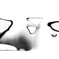 "Walter Schels  | ""Sumi-e 3"" |  Fiber-Based-Fine Art Print | 30x20cm  | Rahmen: 30x40cm |  2015 Hamburg |  Edition: 1 | 10 +2 AP"