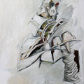 """In Balance""  Acryl auf Leinwand  60x80 cm"