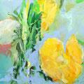 """""""Blumen II""""  Acryl auf Leinwand  80 x 120 cm"""