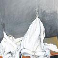 """""""Weisse Hosen""""   70x100 cm  Acryl auf Leinwand"""
