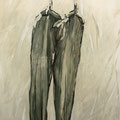 """Hose II""  Acryl auf Leinwand  100x120 cm"