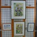 Pots de fleurs et caricature (professionel)