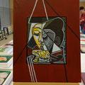 Interprétation Style  Picasso